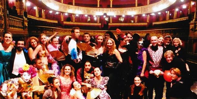 """Equipe spectacle """"Cabaret"""" - théâtre des Variétés"""